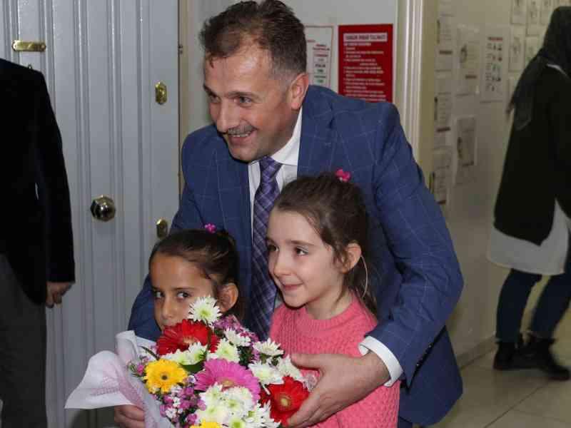Özel Öğretim Kurumları Genel Müdürü Ve Özel Kurumlar Daire Başkanı Fethullah Güner kurumumuzu ziyaret ettiler.